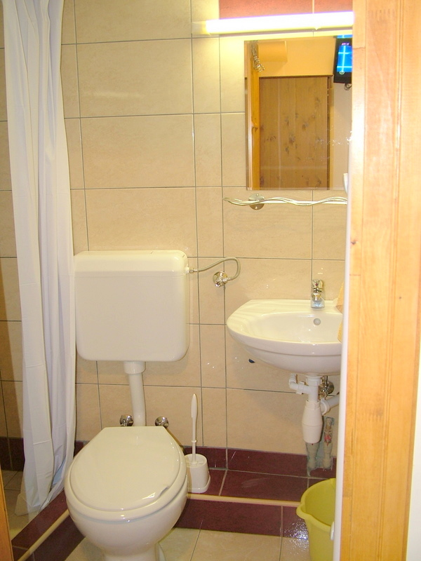 Photos of the bathroom - Gyula accommodation
