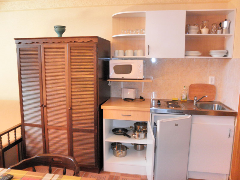Gyula Apartment 15 is a mini-kitchen near the Castle Bath (thermal bath)
